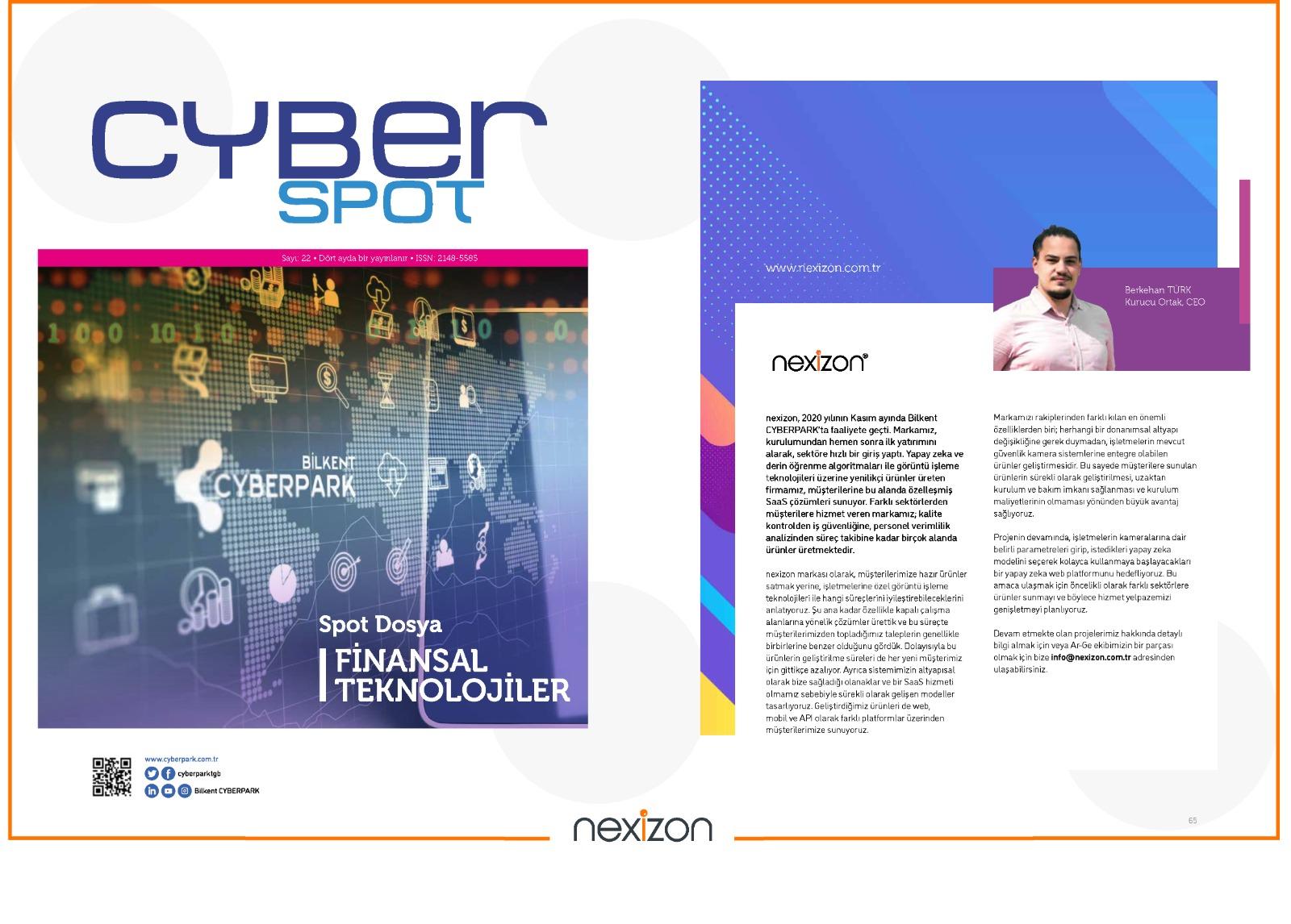 Interwiev - CyberSpot Magazine 22nd Issue